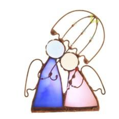 Подсвечник «Ангелы под зонтом»