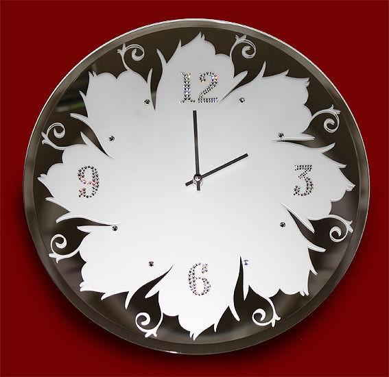 Часы с кристаллами сваровски Зеркальные