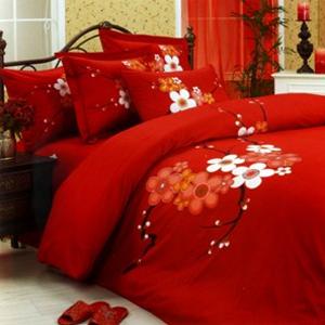 Комплект постельного белья Lila FLORA семейный