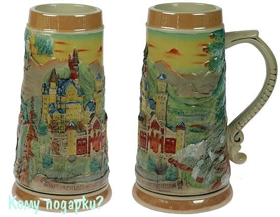Пивная кружка коллекционная «Замок Нойшванштайн»