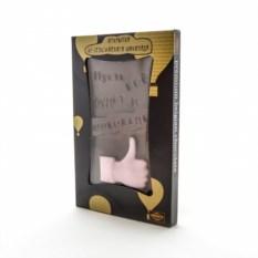 Шоколадная открытка Пусть все будет в шоколаде