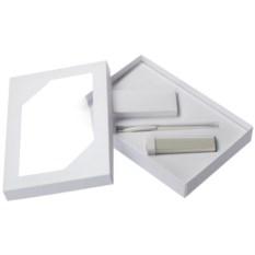 Набор Energy: аккумулятор и ручка (цвет — белый)