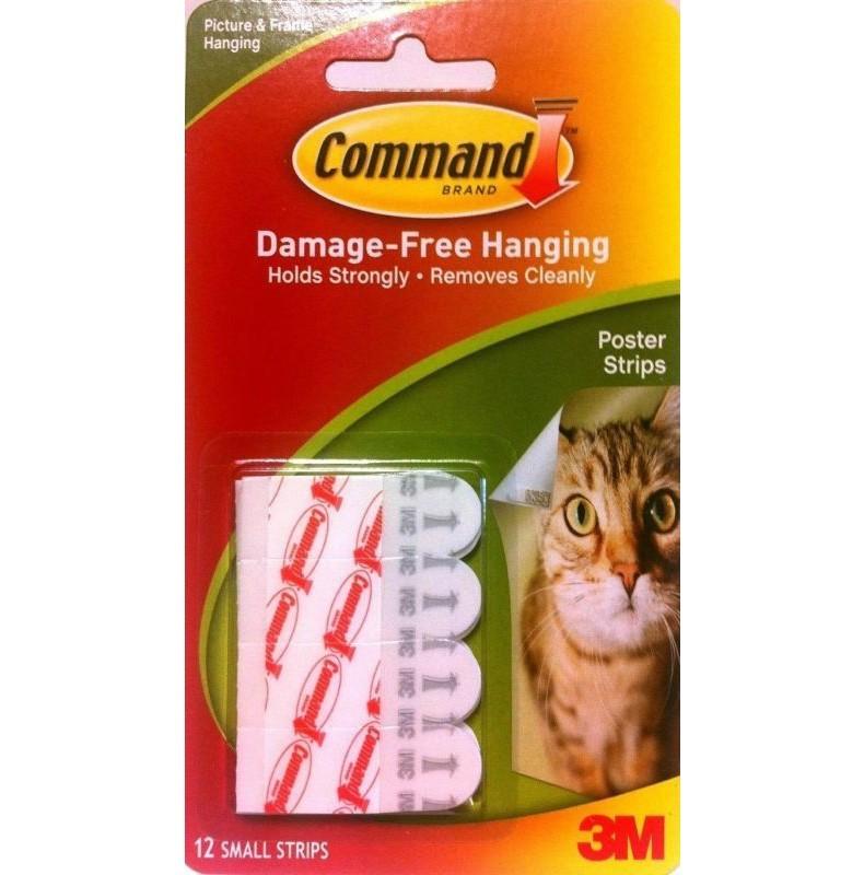 Самоклеящиеся полоски для плакатов Command