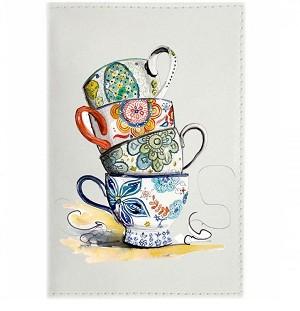 Обложка для паспорта TeaCup