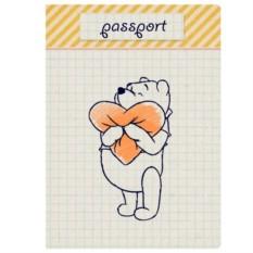 Обложка для паспорта Винни Пух