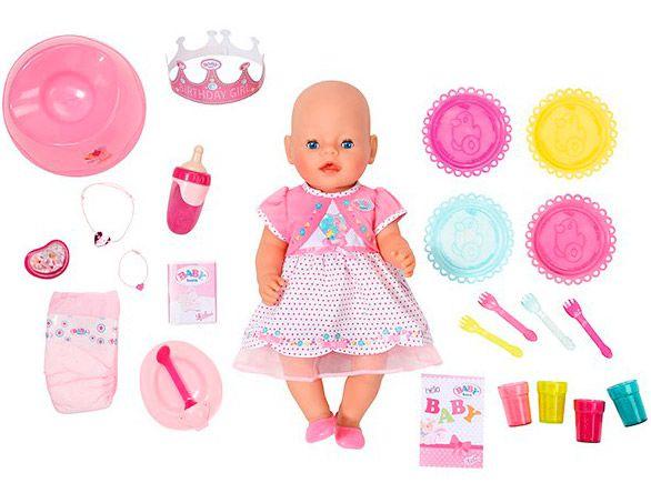 Интерактивная кукла BABY born Праздничная, Zapf Creation