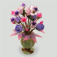 Цветы из агата Моя любовь