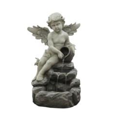 Напольный интерьерный фонтан Ангелочек