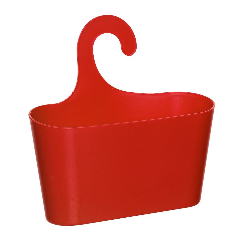 Красная подвесная полка-корзина Stardis