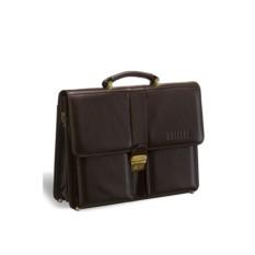 Классический коричневый портфель Brialdi Bari