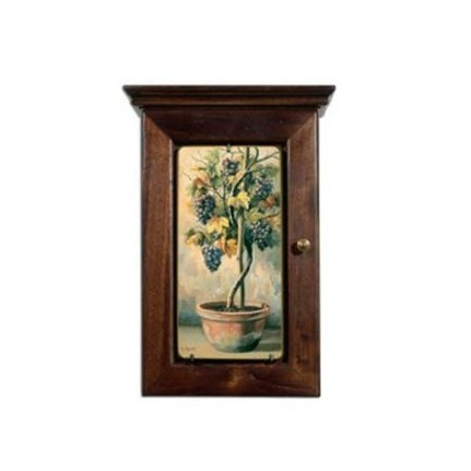 Ключница настенная «Виноградное дерево»