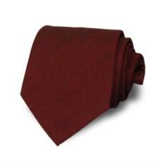 Красный итальянский галстук Leonardo