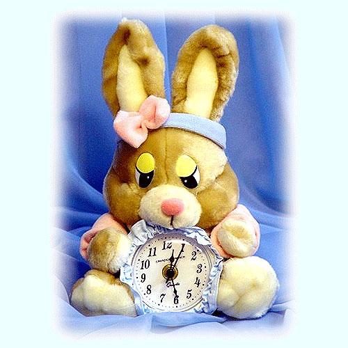 Часы «Зайка»