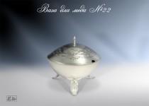 Серебряная ваза для меда №22