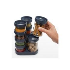 Серый набор ёмкостей для специй Carousel Spice Store™