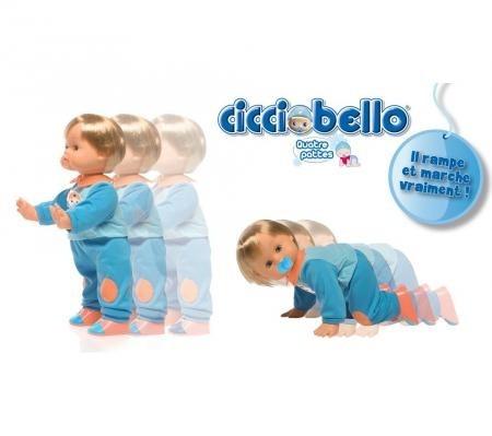 Интерактивная кукла (ходит и ползает)