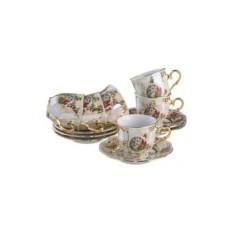 Чайный набор на 6 персон Мадонна от Bohemia Porcelan