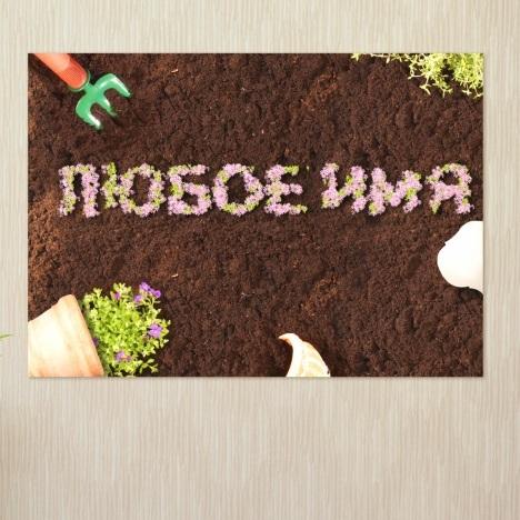 Постер на стену Сад