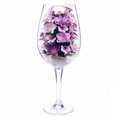 Цветы в стекле: Композиция из орхидей