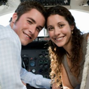 Романтическая прогулка на самолёте Cessna