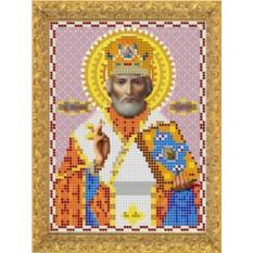 Набор для вышивания бисером Св. Николай Чудотворец