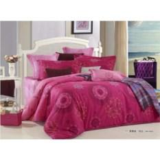 Шелковое постельное белье SEDA Розовый орнамент от Kingsil