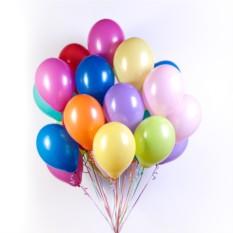 Ассорти из шаров 10 цветов (50 шт.)