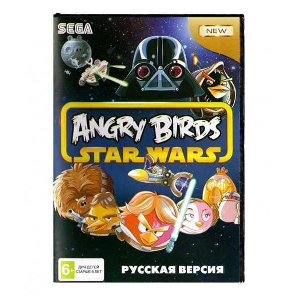 Игра Angry Birds: Star Wars (Sega)
