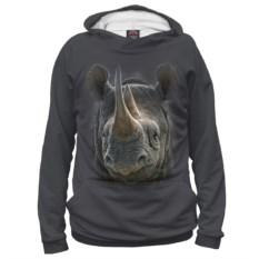 Женское худи Носорог