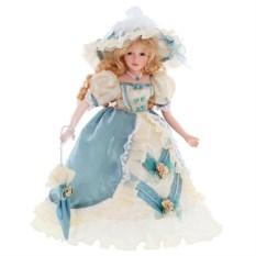 Фарфоровая коллекционная кукла Вероника