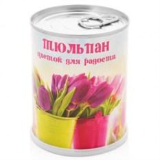 Набор для выращивания в банке Цветок для радости