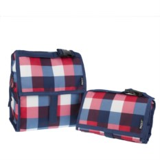 Сумка-холодильник Lunch Bag Buffalo Check
