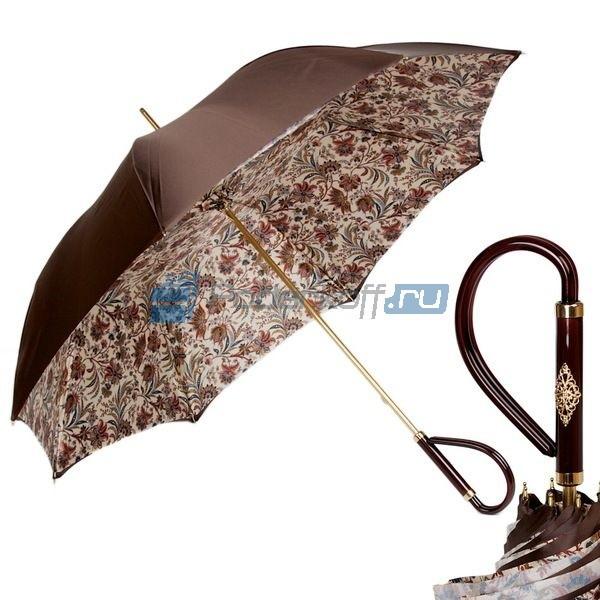 Зонт-трость Pasotti Marrone Fern Pastica