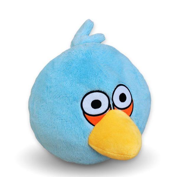 Голубая птичка Angry Bird
