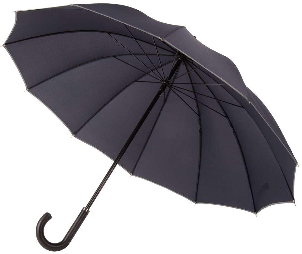 Темно-синий с серым зонт Lui