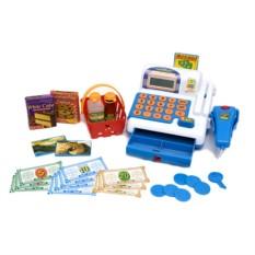 Игровой набор Касса-калькулятор со сканером