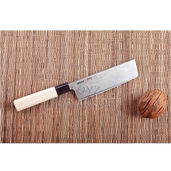 Нож кухонный японский Накири Samura okinawa