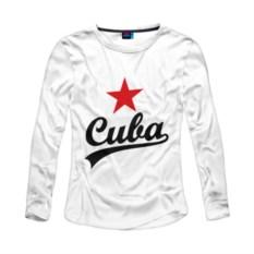 Женский лонгслив из хлопка Cuba