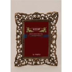Фоторамка из бронзы Венеция, цвет каштановый