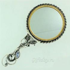Зеркало в серебряной оправе Афродита