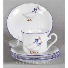 Набор чашек 0,15 л с блюдцем Leander Мэри-Энн 31027