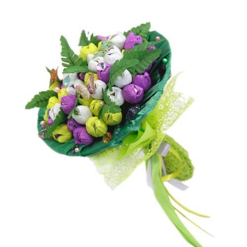 Букет из конфет Букет тюльпанов