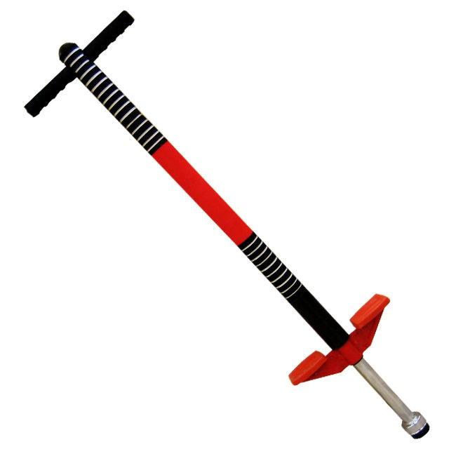 Детский красный тренажер-кузнечик POGO-STICK до 40 кг