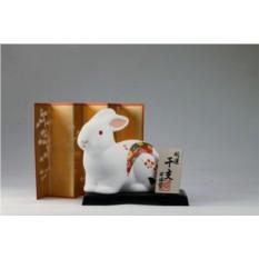 Фарфоровая статуэтка Кролик Morita & Co