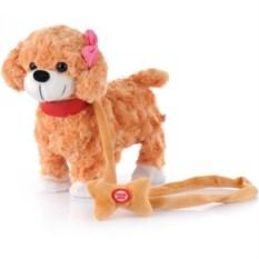 Поющая и танцующая игрушка Собачка на поводке