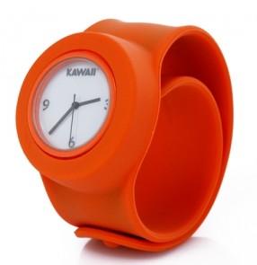 Оранжевые слэп-часы Kawaii Fresh