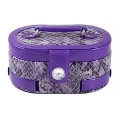 Фиолетовая шкатулка для ювелирных украшений Calvani