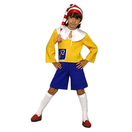 Детский карнавальный костюм «Буратино»