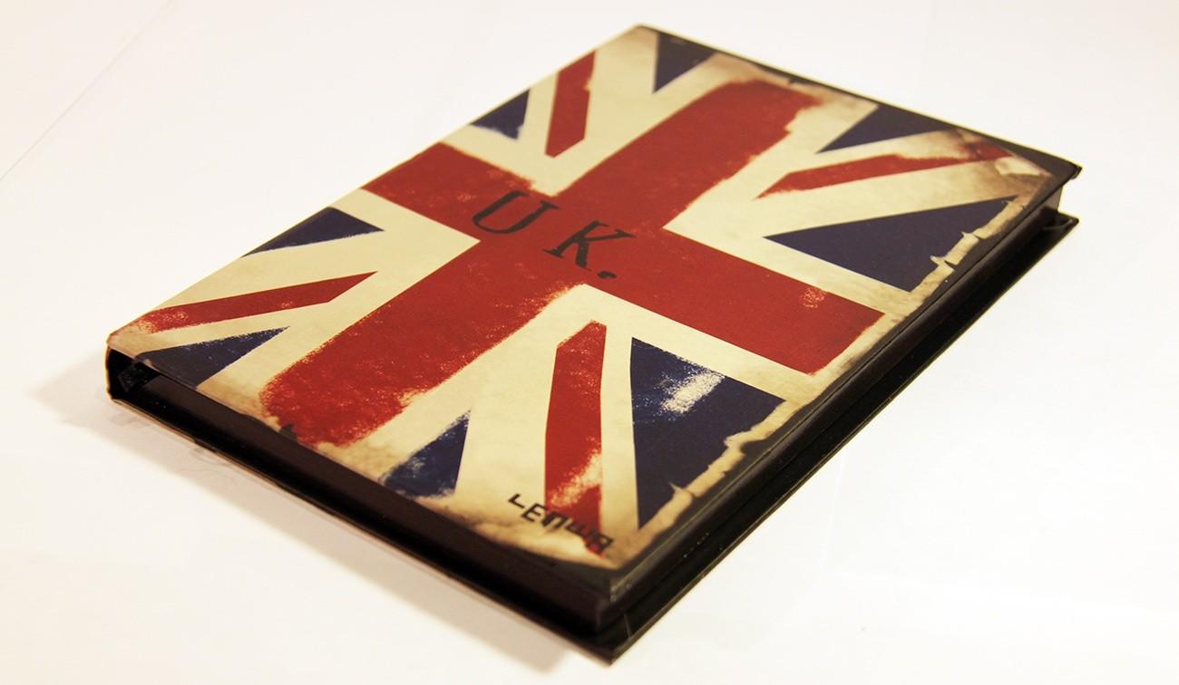 Блокнот Британский