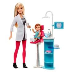 Игровой набор с Barbie Стоматолог (Mattel)